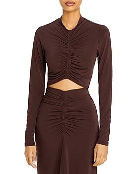 A.L.C. - Anne Ruched Crop Top & Aureta Ruched Skirt