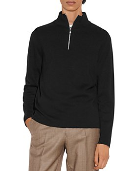 Sandro - Wool Half Zip Sweater