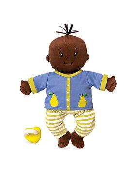 "Manhattan Toy - Baby Stella Brown Doll 15"" Soft First Baby Doll - Ages 12 Months+"