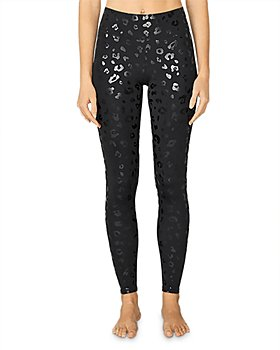 Terez - Tall Band Cheetah Print Leggings