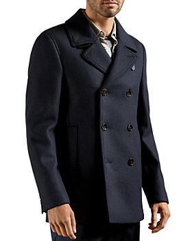 Ted Baker - Summit Wool Blend Peacoat