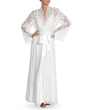 Jonquil LONG LACE ROBE