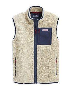 Vineyard Vines - Stillwater Zip Front Fleece Vest