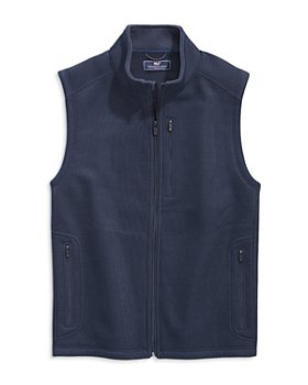 Vineyard Vines - Mountain Zip Front Sweater Vest