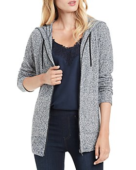 NIC and ZOE - Keep It Cozy Hooded Zip Cardigan