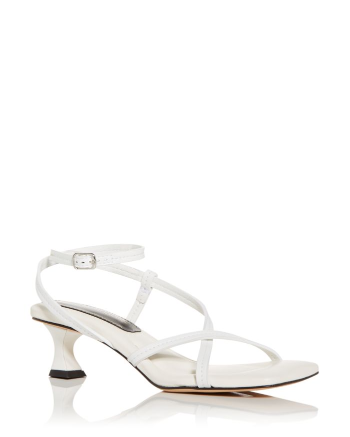 Proenza Schouler Women's Strappy Mid Heel Sandals    Bloomingdale's