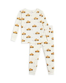 FIRSTS by petit lem - Unisex Taxi Print Pajama Set - Baby