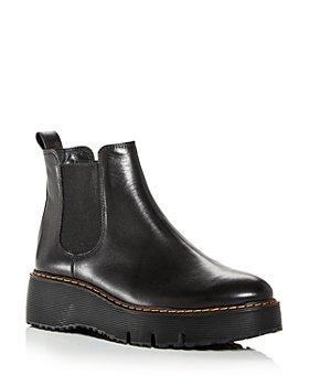 Paul Green - Women's Elysee Wedge Platform Chelsea Boots