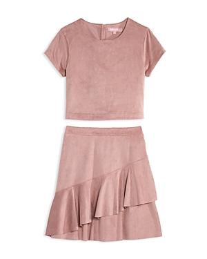 Bcbg Girls Girls\\\' Faux Suede Two Piece Dress - Big Kid