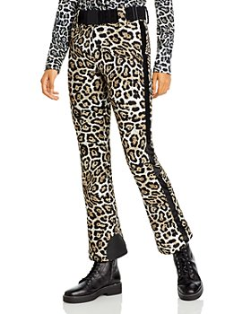 GOLDBERGH - Roar Leopard Print Belted Pants