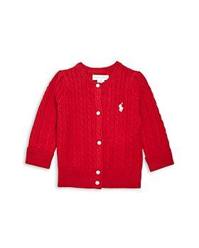 Ralph Lauren - Girls' Cotton Cable Knit Cardigan - Baby