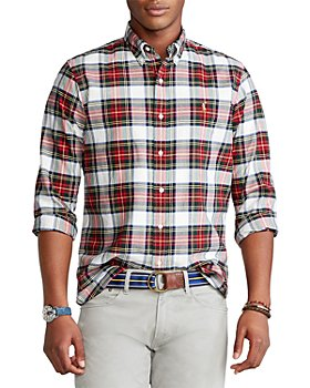 Polo Ralph Lauren - Cotton Oxford Plaid Classic Fit Button Down Shirt