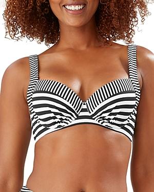 Tommy Bahama Breaker Bay Striped Underwire Bikini Top