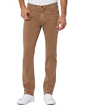 PAIGE - Federal Straight Slim Fit Jeans in Vintage New Chestnut