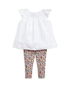 Ralph Lauren - Girls' Smocked Tunic & Leggings Set - Baby