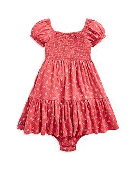 Ralph Lauren - Girls' Floral Print Cotton Dress - Baby