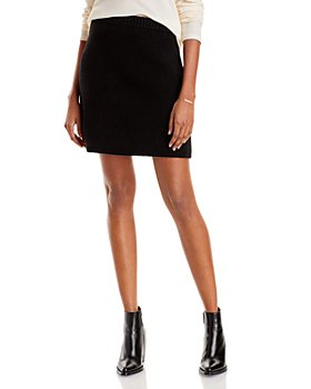 AQUA - Mini Sweater Skirt