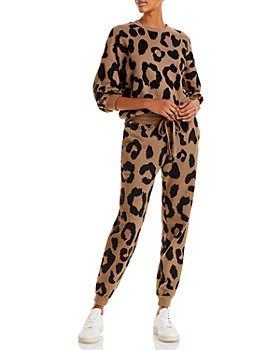 Pistola - Leopard Print Sweatshirt & Joggers
