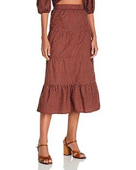 Faithfull the Brand - Farida Printed Midi Skirt