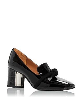 Donald Pliner Women\\\'s Camee High Block Heel Loafers