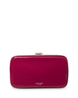 Kate Spade KATE SPADE NEW YORK TONIGHT PATENT LEATHER CLUTCH
