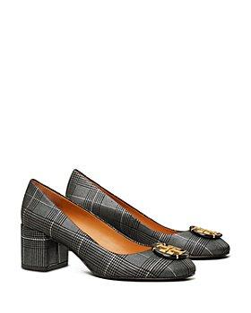 Tory Burch - Women's Embellished Suede High Heel Pumps