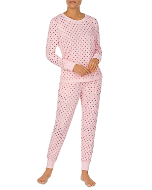 Dot Print Pajama Set