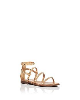 STEVE MADDEN - Girls' JTravel Studded Sandals - Little Kid, Big Kid