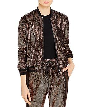 PAM & GELA - Rose Mirror Ball Jacket