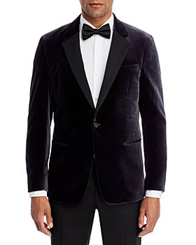 Theory - Chambers Velvet Slim Fit Dinner Jacket