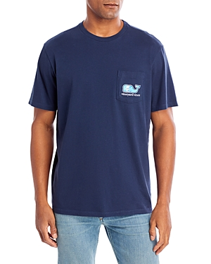 Vineyard Vines Tie Dye Logo Tee-Men