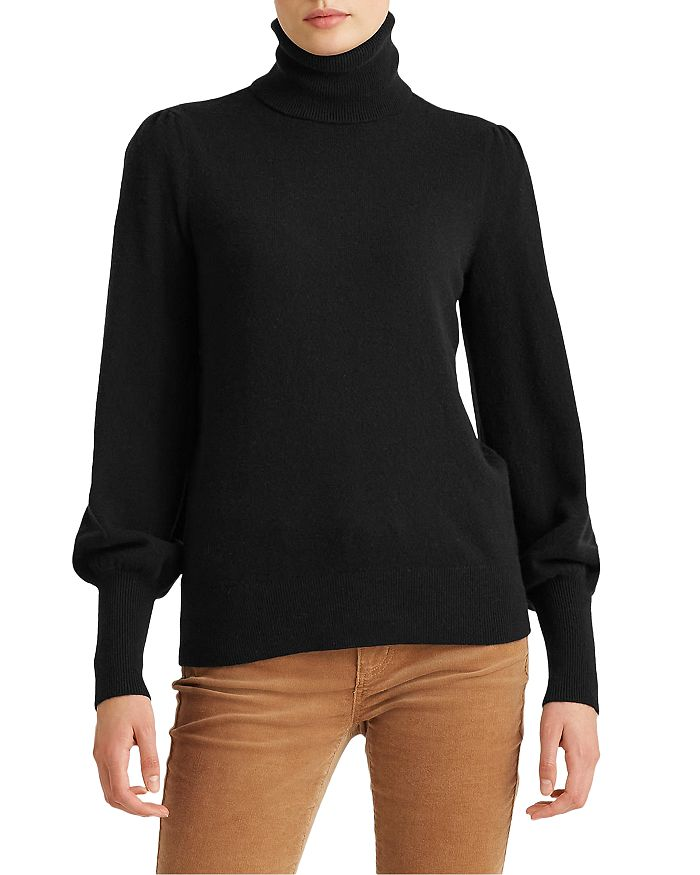 Ralph Lauren - Washable Cashmere Turtleneck Sweater - 100% Exclusive