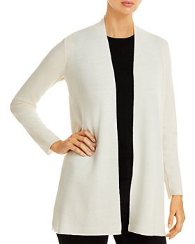 Eileen Fisher - Long Open Front Cardigan