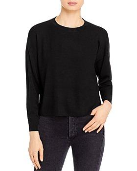 Eileen Fisher - Crewneck Merino Wool Pullover Sweater