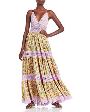 Dama Floral Maxi Dress