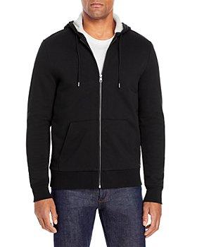 Michael Kors - Sherpa-Lined Zip-Front Hoodie