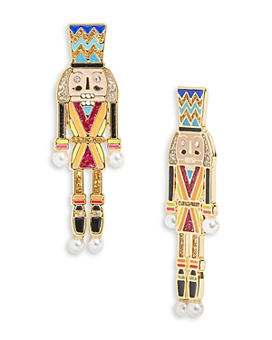 Baublebar CLARA NUTCRACKER DROP EARRINGS