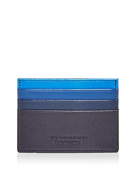 The Men's Store at Bloomingdale's - Ombré Color Block Leather Card Case - 100% Exclusive
