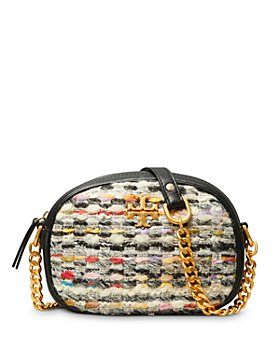 Tory Burch - Kira Small Tweed Camera Crossbody