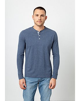 Rails - Skhi Striped Cotton Henley