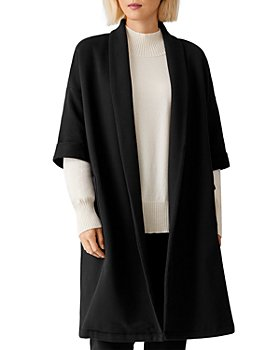 Eileen Fisher - Open Front Elbow Sleeve Jacket