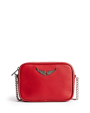 Zadig & Voltaire EXTRA SMALL LEATHER BOXY SHOULDER BAG