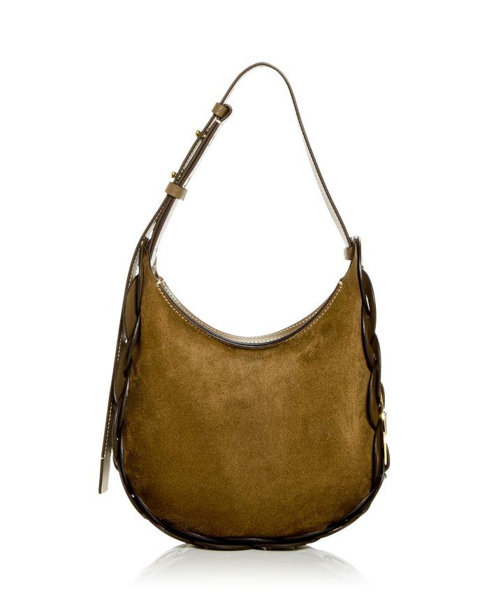 Chloé Darryl Small Leather Hobo Bag  | Bloomingdale's