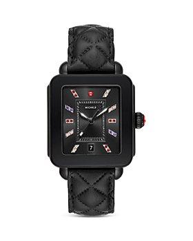 MICHELE - Deco Topaz Sport Watch, 34mm x 36mm