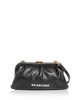 Balenciaga - Cloud XS Leather Clutch