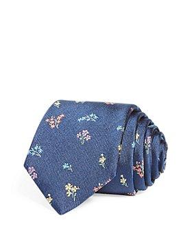 Paul Smith - Floral Skinny Tie