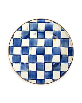 Mackenzie-Childs - Royal Check Dinner Plate
