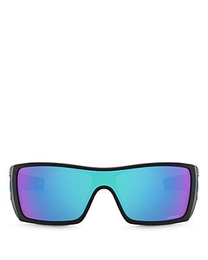 Oakley Men\\\'s Batwolf Rectangular Sunglasses, 58mm-Jewelry & Accessories