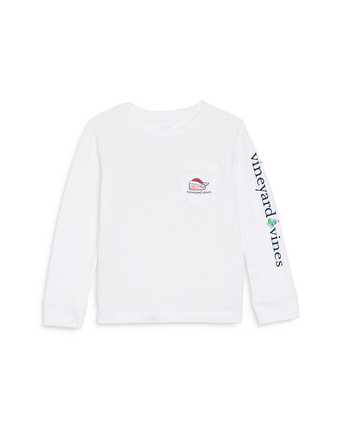Vineyard Vines - Unisex Santa Whale Holiday Tee - Little Kid, Big Kid
