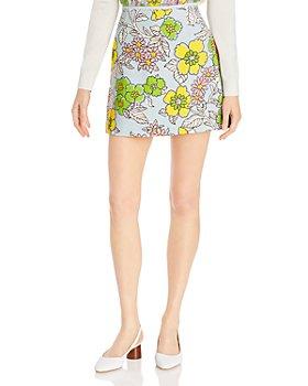 Tory Burch - Wallpaper Floral Mini Skirt